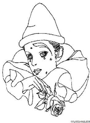 Arlequin dessin - Dessin de pierrot ...