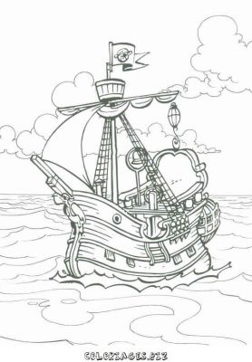 Coloriages Pirate Page 1 Héros