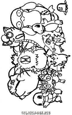 Dessin a imprimer pokemon - Coloriages tfou ...