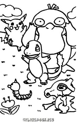 Coloriages pokemon page 1 h ros - Coloriage pokemon en ligne ...