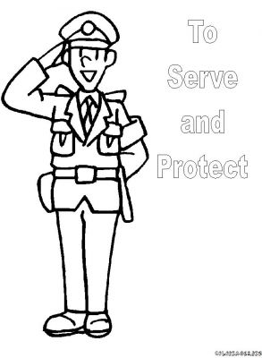 Coloriages police page 1 police - Coloriage a imprimer police ...