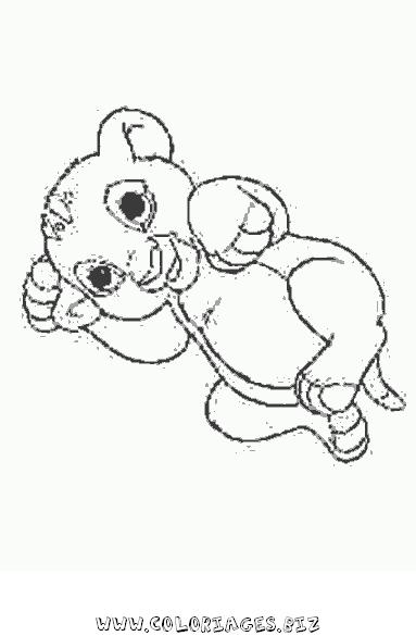 Coloriage lion a imprimer quotes sketch coloring page - Dessin simba roi lion ...