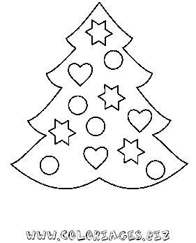 Coloriages Sapins De Noel A Decorer Page 1 Sapins De Noel A Decorer