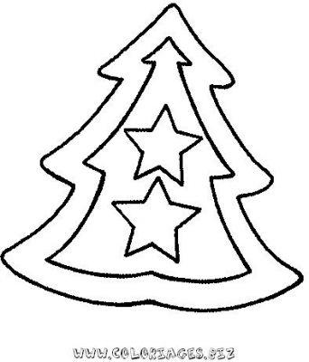 Coloriages Sapins de Noel à décorer page 2 Noel