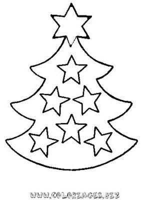 Coloriages Sapins de Noel à décorer page 3 Noel