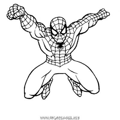 coloriage_spiderman_10jpg spiderman