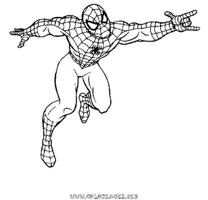 coloriage_spiderman_9jpg spiderman