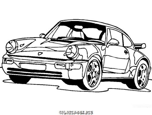Coloriages voiture page 2 transports - Voiture dessin ...