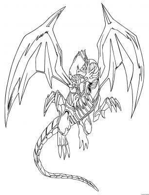 Comment dessiner une carte yu gi oh - Coloriage yu gi oh ...